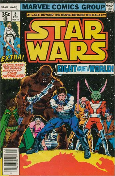 Star Wars (1977) 8-A by Marvel