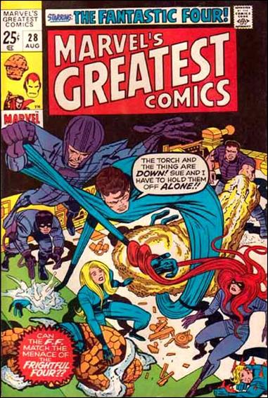 Marvel's Greatest Comics 28-A by Marvel