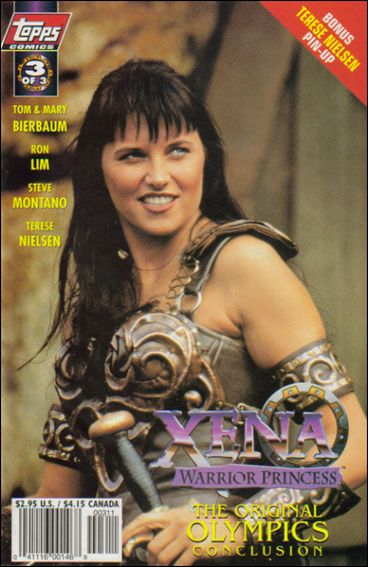 Xena: Warrior Princess: And the Original Olympics 3-A by Topps