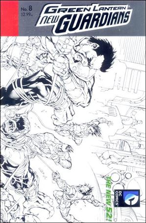 Green Lantern: New Guardians  8-B