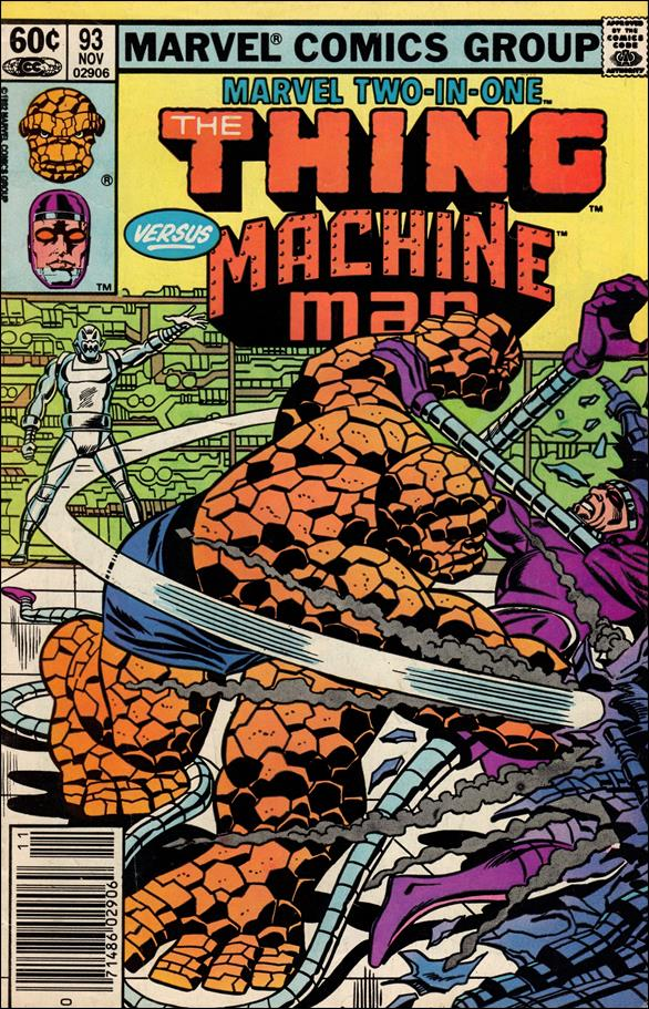 Marvel Two-in-One (1974) 93-A by Marvel