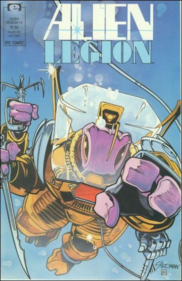 Alien Legion (1987) 13-A by Epic