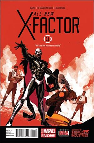 All-New X-Factor 11-A
