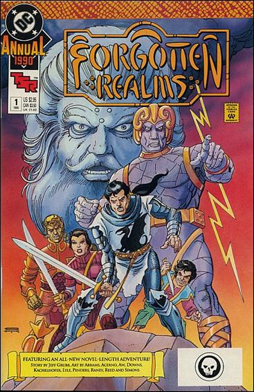 Forgotten Realms Annual 1-A by DC
