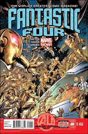 Fantastic Four (2013) 5AU-A