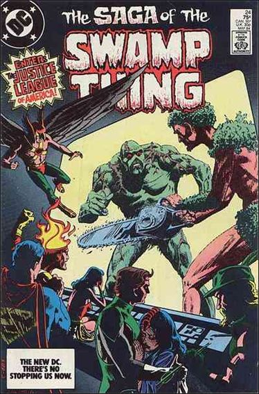 Saga of the Swamp Thing 24-A by DC