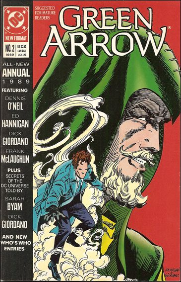 Green Arrow Annual (1988) 2-A by DC