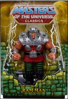 Masters of the Universe Classics Ram Man by Mattel