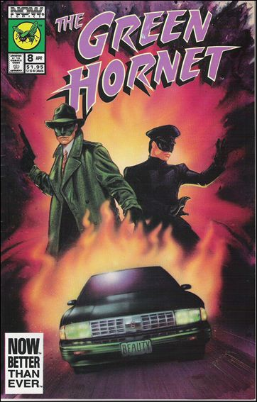 Green Hornet (1991) 8-A by Now Comics