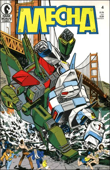 Mecha 4-A by Dark Horse