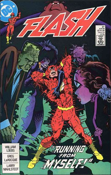 Flash (1987) 27-A by DC