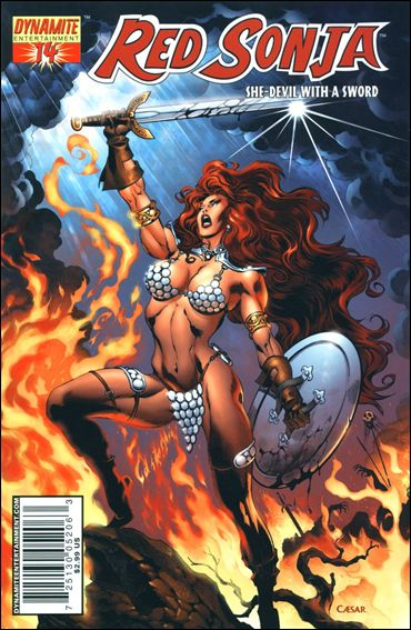 Red Sonja (2005) 14-C by Dynamite Entertainment