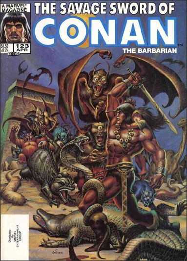 Savage Sword of Conan (1974) 123-A by Marvel