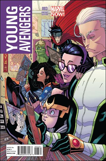 Young Avengers (2013) 3-B by Marvel