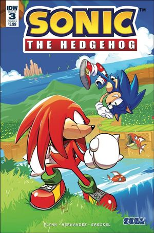 Sonic the Hedgehog (2018) 3-A