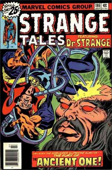 Strange Tales (1951) 186-A by Marvel