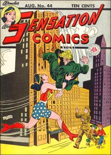Sensation Comics (1942) 44-A by DC