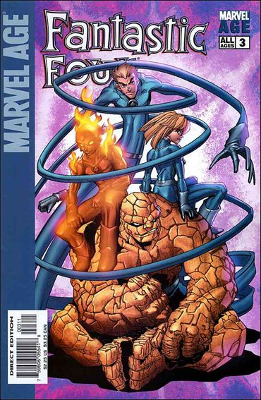 Marvel Age Fantastic Four 3-A by Marvel