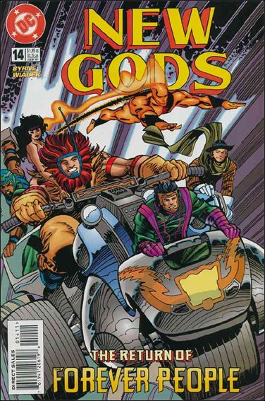 New Gods (1995) 14-A by DC