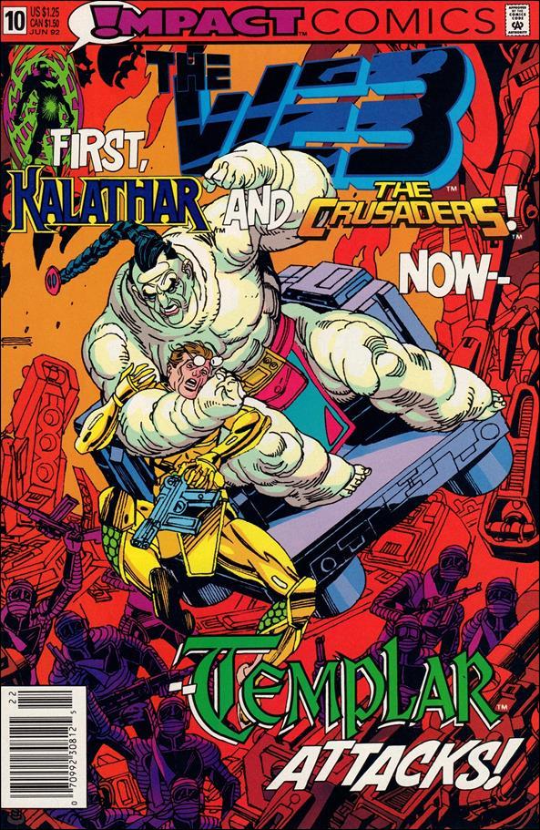 Web (1991) 10-A by Impact Comics