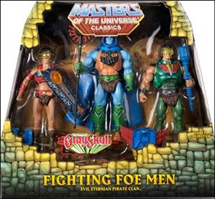 Masters of the Universe Classics (3-Packs)  Fighting Foe Men