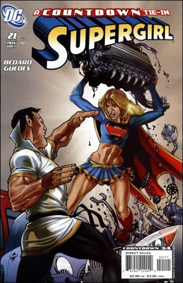 Supergirl (2005) 21-A by DC