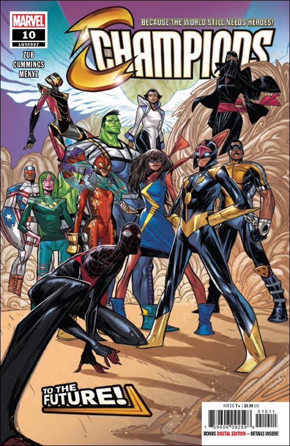 Champions (2019) 10-A by Marvel