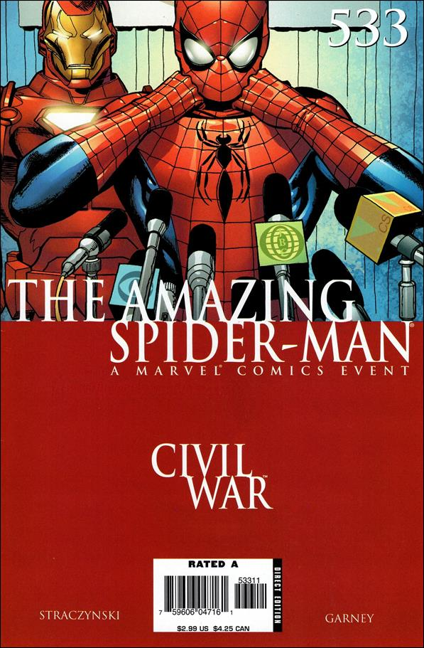Amazing Spider-Man (1963) 533-A by Marvel