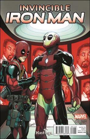 Invincible Iron Man (2015)  1-YB