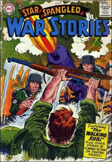 Star Spangled War Stories (1952) 56-A by DC