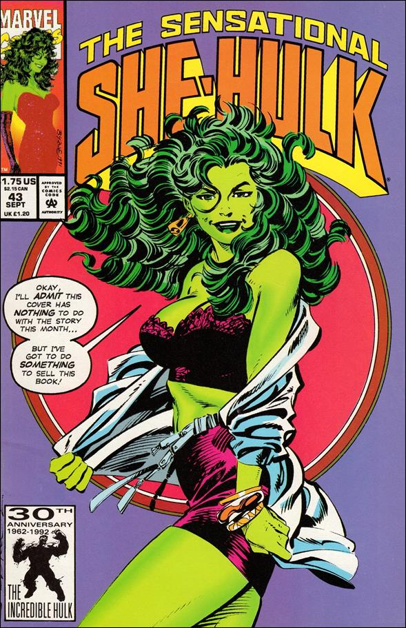 Sensational She-Hulk 43-A by Marvel