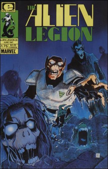 Alien Legion (1984) 20-A by Epic