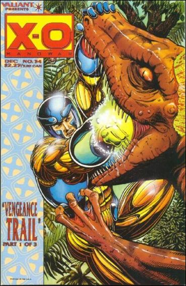 X-O Manowar (1992) 34-A by Valiant