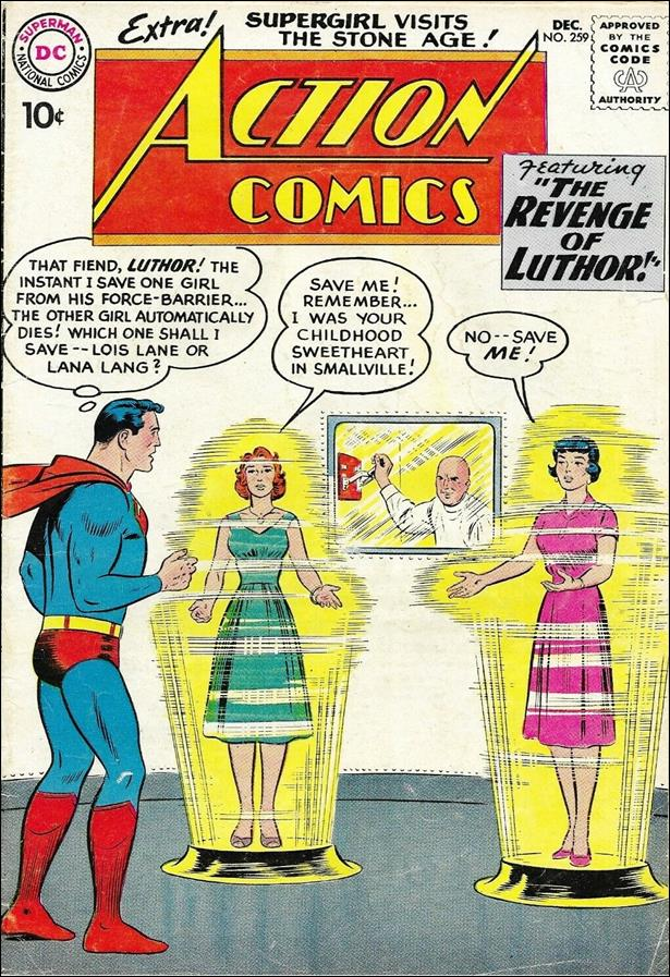 Action Comics (1938) 259-A by DC