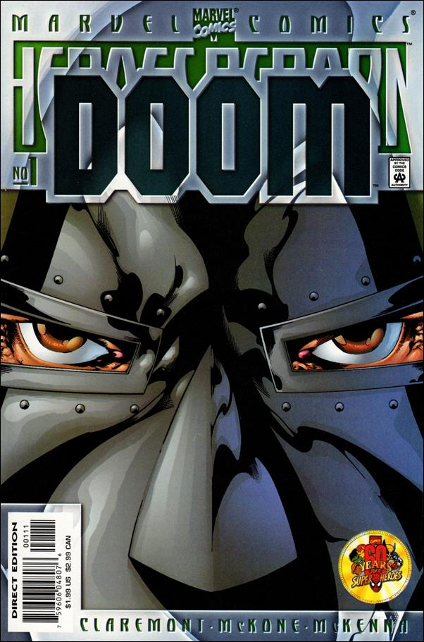 Heroes Reborn: Doom 1-A by Marvel
