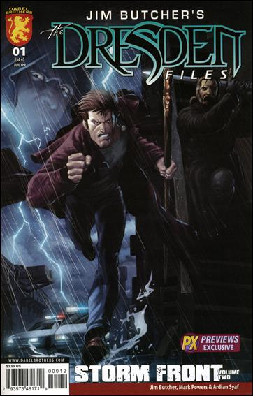Jim Butcher's The Dresden Files: Storm Front (2009) 1-B by Dynamite Entertainment