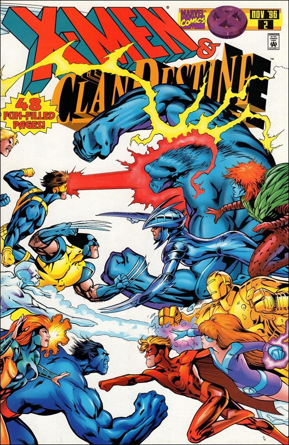 X-Men: ClanDestine 2-A by Marvel