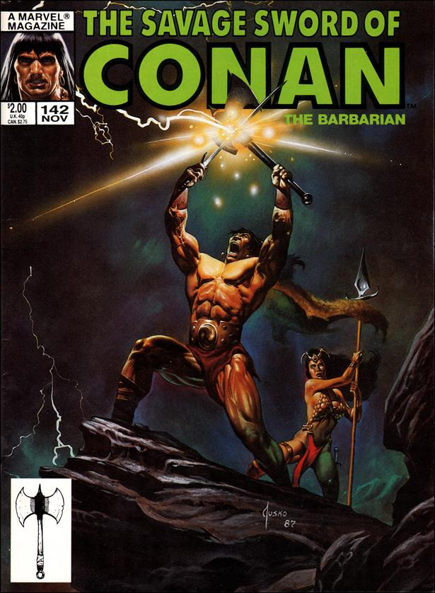 Savage Sword of Conan (1974) 142-A by Marvel