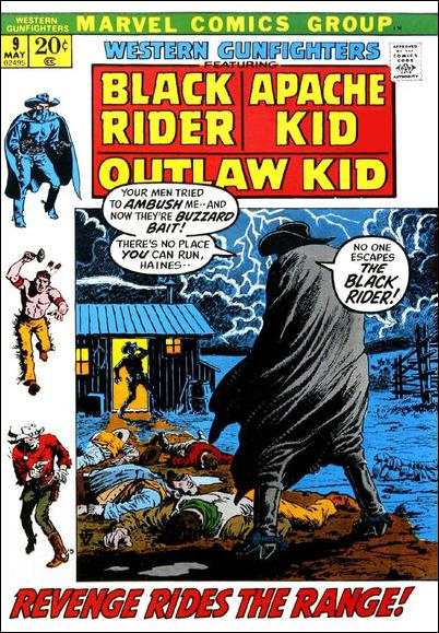 Western Gunfighters (1970) 9-A by Marvel