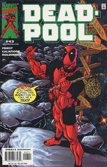 Deadpool (1997) 43-A by Marvel