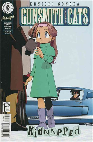 Gunsmith Cats: Kidnapped 3-A by Dark Horse