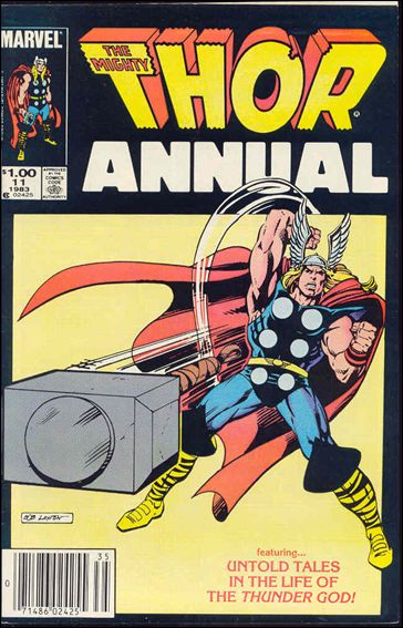 Thor Annual (1966) 11-A by Marvel