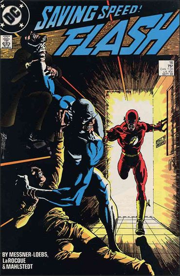 Flash (1987) 16-A by DC