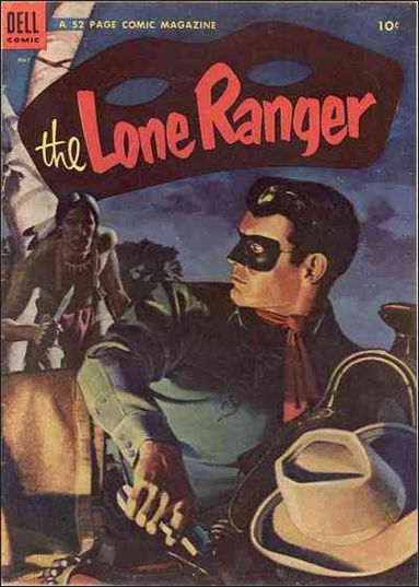 Lone Ranger (1948) 71-A by Dell