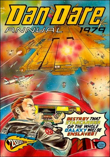 Dan Dare Annual 1979-A by Fleetway