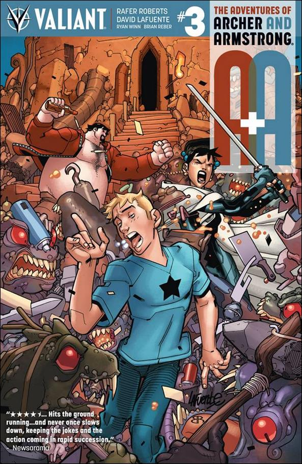 A&A: The Adventures of Archer & Armstrong 3-A by Valiant Entertainment