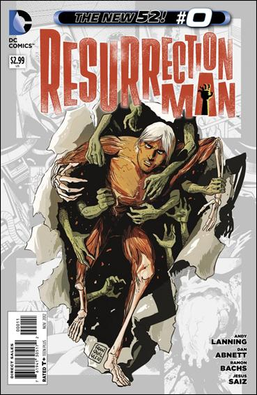 Resurrection Man (2011) 0-A by DC