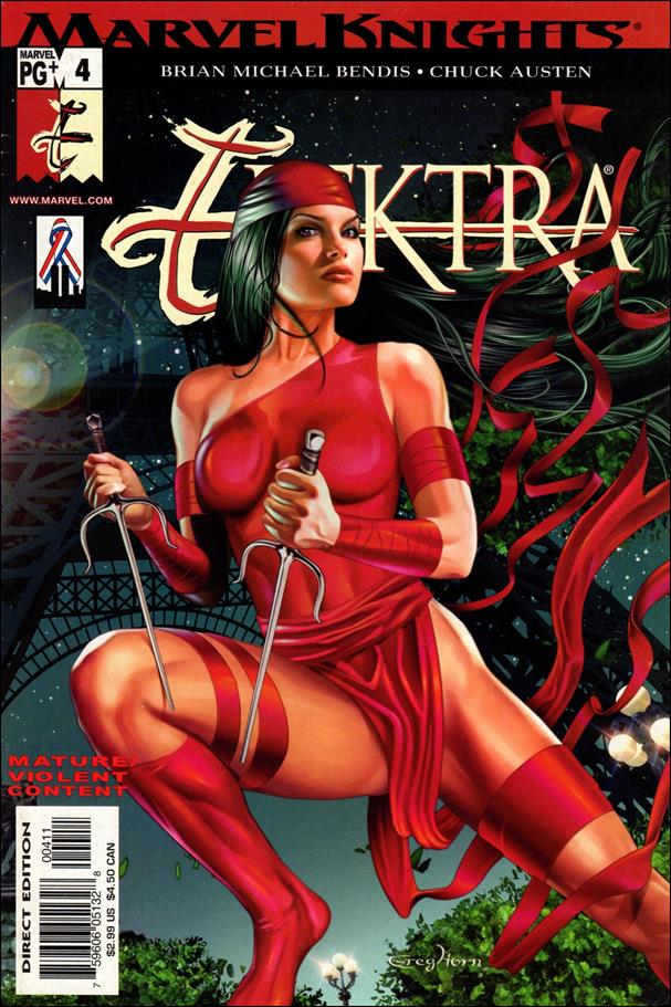 Elektra (2001) 4-A by Marvel