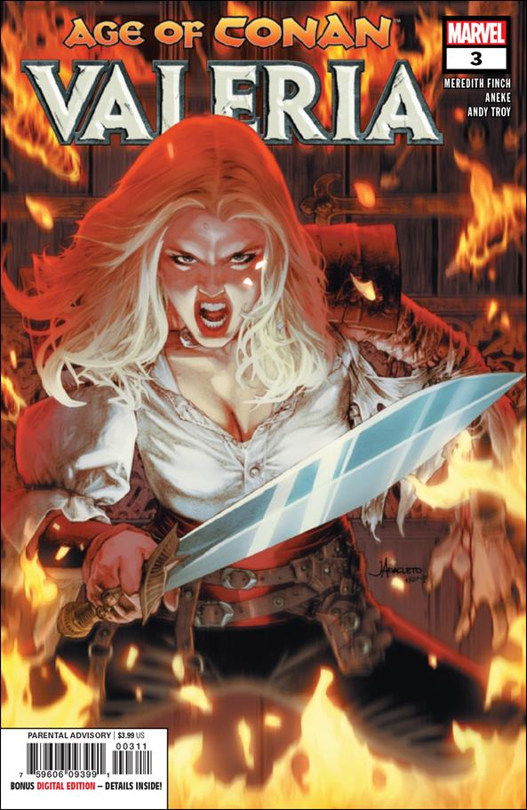 Age of Conan: Valeria 3-A by Marvel