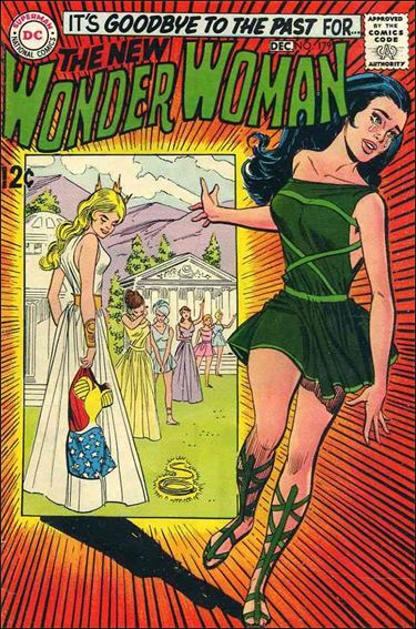 Wonder Woman (1942) 179-A by DC